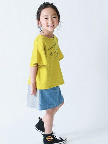 COMME CA ISMさんのTシャツ「メッセージプリントフレアスリーブTシャツ」を使ったコーディネートを紹介します。|Rakuten Fashion(楽天ファッション/旧楽天ブランドアベニュー)36464