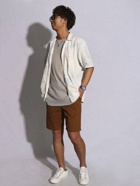COMME CA ISMの<<コットン>>イージー ショートパンツを使ったコーディネートを紹介します。|Rakuten Fashion(楽天ファッション/旧楽天ブランドアベニュー)37898