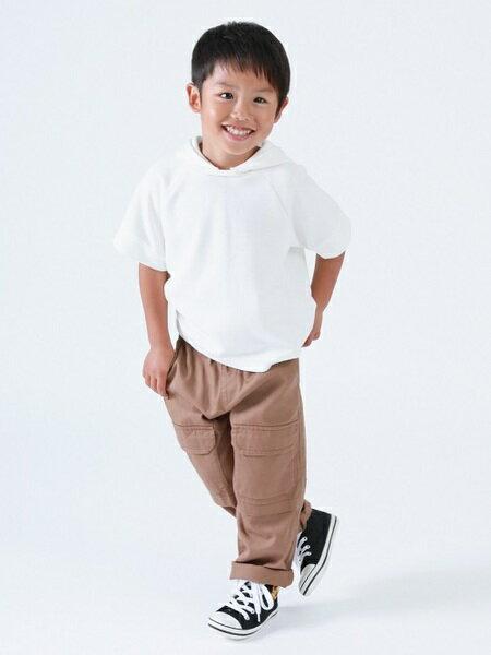 COMME CA ISMのフード付き半袖Tシャツを使ったコーディネートを紹介します。|Rakuten Fashion(楽天ファッション/旧楽天ブランドアベニュー)40472