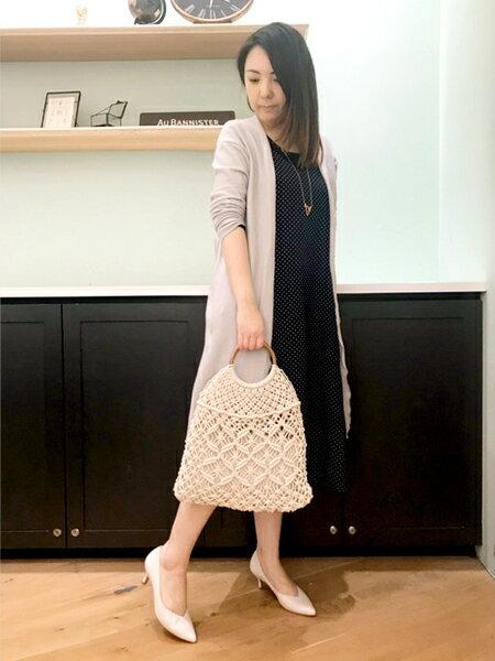 AU BANNISTERのELDERレーザーカットミドルパンプスを使ったコーディネートを紹介します。|Rakuten Fashion(楽天ファッション/旧楽天ブランドアベニュー)32801