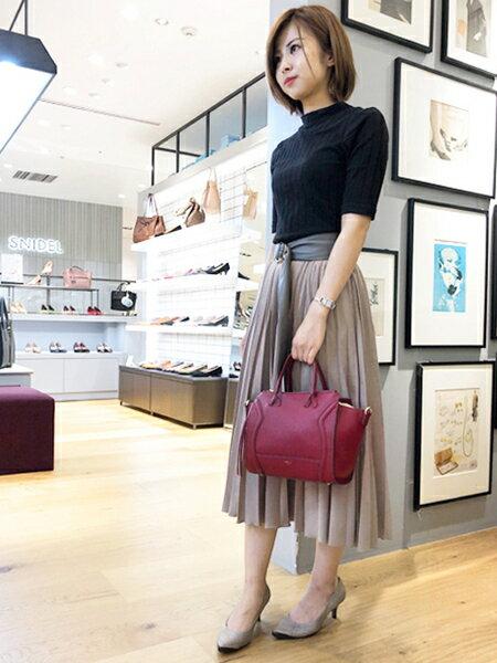 Piche Abahouseの【伝説のベストセラーパンプス】fluffyfitポインテッドパンプスを使ったコーディネートを紹介します。|Rakuten Fashion(楽天ファッション/旧楽天ブランドアベニュー)40137