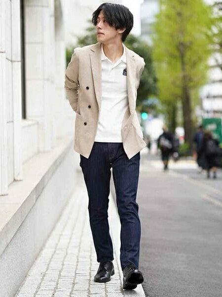MK MICHEL KLEIN hommeのコラボポロシャツ/FIDELITY×MKHOMME(WEB限定カラー)を使ったコーディネートを紹介します。|Rakuten Fashion(楽天ファッション/旧楽天ブランドアベニュー)39999