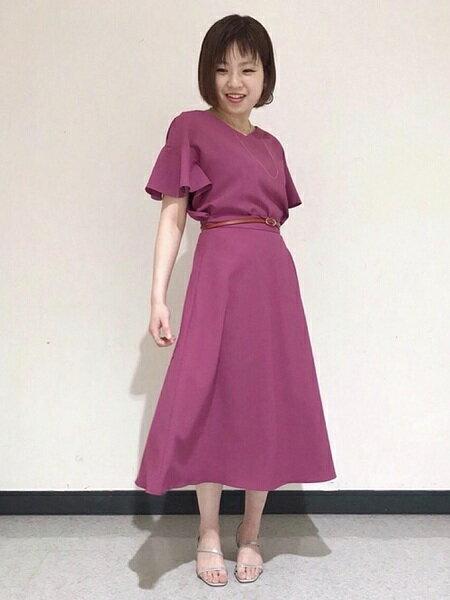CLEAR IMPRESSIONのリングチェーンネックレスを使ったコーディネートを紹介します。 Rakuten Fashion(楽天ファッション/旧楽天ブランドアベニュー)33211