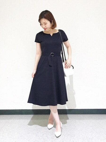 フォーマルな夏のお見合いワンピース 30代40代女性は上品清楚な服装で♡
