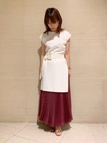 INEDのプリーツロングスカート【with1月号掲載】を使ったコーディネートを紹介します。|Rakuten Fashion(楽天ファッション/旧楽天ブランドアベニュー)37448