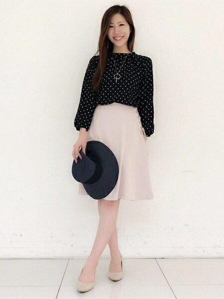 ef-deさんのフレアスカート「【春の新作】サイドレースアップスカート」を使ったコーディネートを紹介します。 ファッション通販楽天ブランドアベニュー(旧スタイライフ Stylife)33200