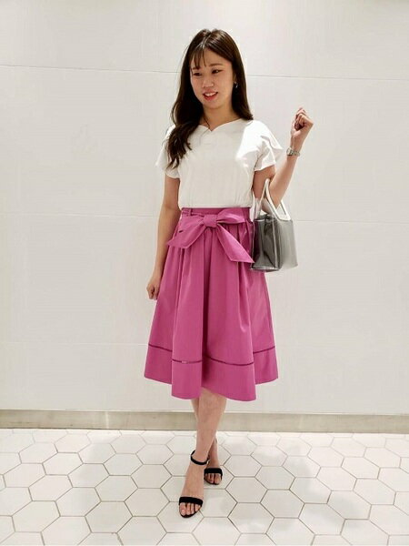 婚活の服装 夏は大人フェミニンなef-deのファッションコーデ♡