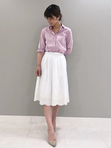 ef-deの清楚な服装♡モテ服ブランドのエフデのシャツがセール中!
