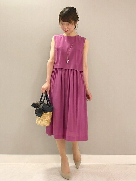 ef-deのセパレートデザインワンピースを使ったコーディネートを紹介します。|Rakuten Fashion(楽天ファッション/旧楽天ブランドアベニュー)38081