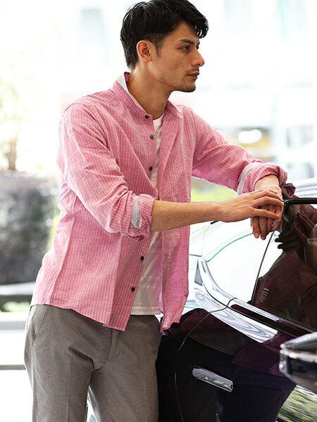 MICHEL KLEIN HOMMEのカットソー(マルチタックボーダー)を使ったコーディネートを紹介します。|Rakuten Fashion(楽天ファッション/旧楽天ブランドアベニュー)37012
