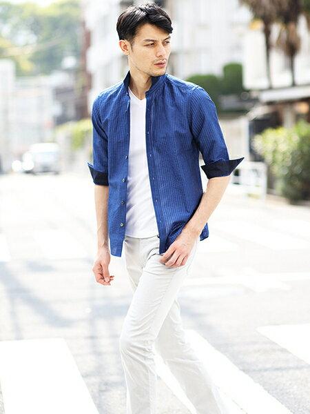 MICHEL KLEIN HOMMEのシャツ(ハードマンCLサッカー)を使ったコーディネートを紹介します。|Rakuten Fashion(楽天ファッション/旧楽天ブランドアベニュー)37013
