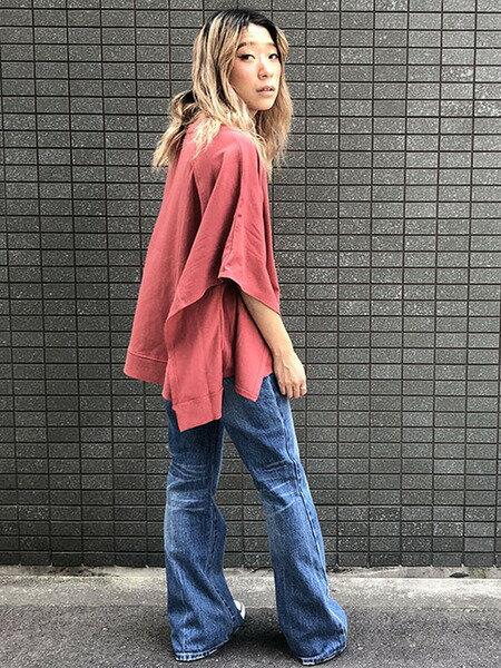 LIPSTARのポンチョ風カットソーを使ったコーディネートを紹介します。|Rakuten Fashion(楽天ファッション/旧楽天ブランドアベニュー)38937