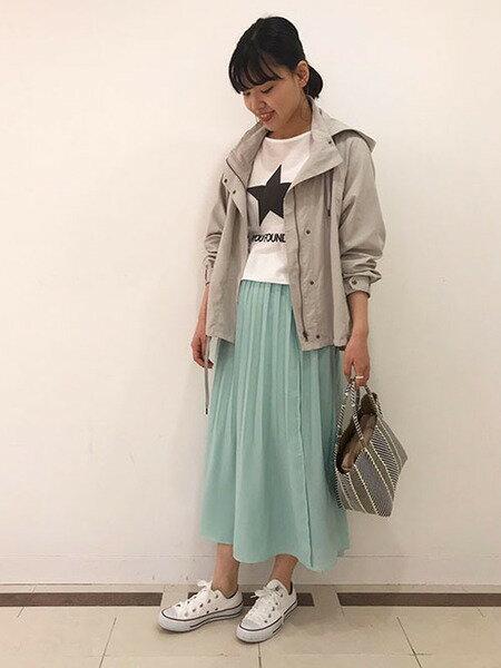 MAYSON GREYさんのハーフパンツ「プリーツスカーチョ」を使ったコーディネートを紹介します。 ファッション通販楽天ブランドアベニュー(旧スタイライフ Stylife)33017