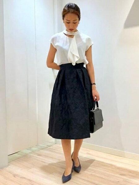 Viaggio Bluの〜FABIO RUSCONI〜 スエードカラーパンプスを使ったコーディネートを紹介します。|Rakuten Fashion(楽天ファッション/旧楽天ブランドアベニュー)38368