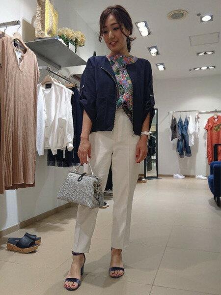 Droitelautreamontのルーランポプリンワッシャージャケットを使ったコーディネートを紹介します。|Rakuten Fashion(楽天ファッション/旧楽天ブランドアベニュー)34982