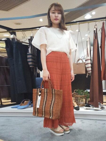 Droitelautreamontのレースパンツを使ったコーディネートを紹介します。 Rakuten Fashion(楽天ファッション/旧楽天ブランドアベニュー)37393
