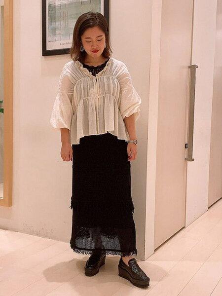 Ketty Cherieのクロシェスカートを使ったコーディネートを紹介します。 Rakuten Fashion(楽天ファッション/旧楽天ブランドアベニュー)41646