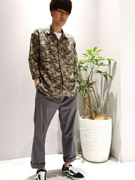 SHARE PARKさんのTシャツ「【洗える】SHARE PARKコットン Tシャツ」を使ったコーディネートを紹介します。|ファッション通販楽天ブランドアベニュー(旧スタイライフ Stylife)34123