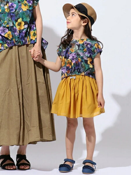 any FAMの【KIDS雑貨】ダブルフリル サンダルを使ったコーディネートを紹介します。 Rakuten Fashion(楽天ファッション/旧楽天ブランドアベニュー)36478