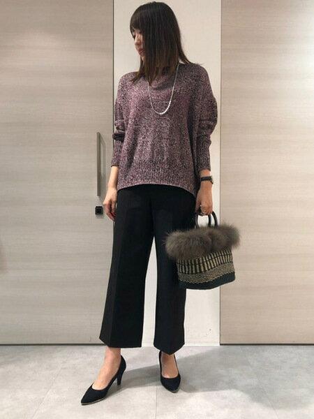 Laf…の《VIOLAd'ORO》ジュートファーバッグを使ったコーディネートを紹介します。|Rakuten Fashion(楽天ファッション/旧楽天ブランドアベニュー)39558