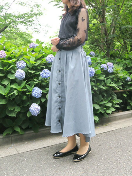 Esmeraldaの【mio notis/ミオノティス】生活防水ボロネーゼバレーシューズを使ったコーディネートを紹介します。|Rakuten Fashion(楽天ファッション/旧楽天ブランドアベニュー)38432