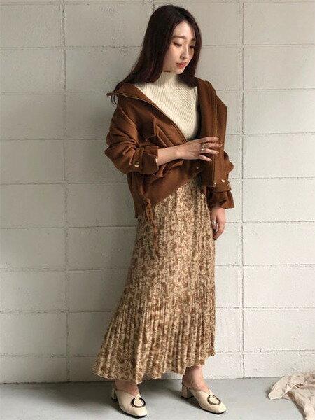 Bou Jeloudの〈2019AW新作〉【WEB限定】BIGポケットキャンディスリーブショートコートを使ったコーディネートを紹介します。 Rakuten Fashion(楽天ファッション/旧楽天ブランドアベニュー)41698