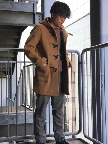 SHIPSのSC:Vallombrosa(バロムブローサ)ダッフルコート(キャメル/オレンジ/オリーブ)を使ったコーディネートを紹介します。|Rakuten Fashion(楽天ファッション/旧楽天ブランドアベニュー)1000062
