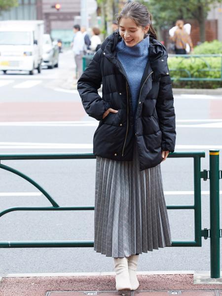 ROPE' PICNICのエステルアコーディオンプリーツスカートを使ったコーディネートを紹介します。 Rakuten Fashion(楽天ファッション/旧楽天ブランドアベニュー)1000403