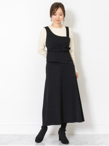 JILLSTUARTの◆マノアリブニットを使ったコーディネートを紹介します。|Rakuten Fashion(楽天ファッション/旧楽天ブランドアベニュー)1000588