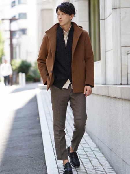 a.v.vのケーブルスタンドカーディガンを使ったコーディネートを紹介します。|Rakuten Fashion(楽天ファッション/旧楽天ブランドアベニュー)1000666