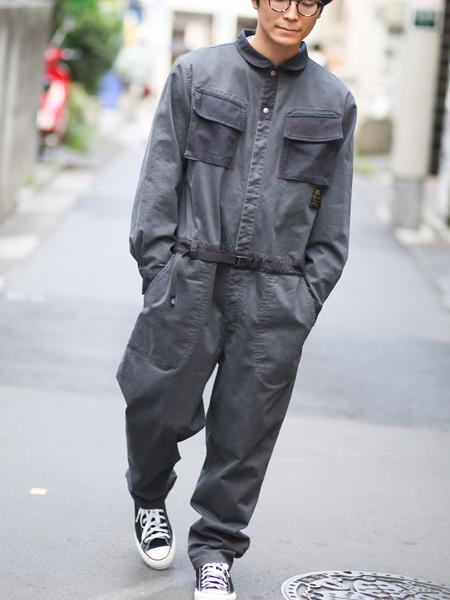 gym masterのgym master/(U)ジャーマンクロスxリップストップジャンプスーツを使ったコーディネートを紹介します。 Rakuten Fashion(楽天ファッション/旧楽天ブランドアベニュー)1000924