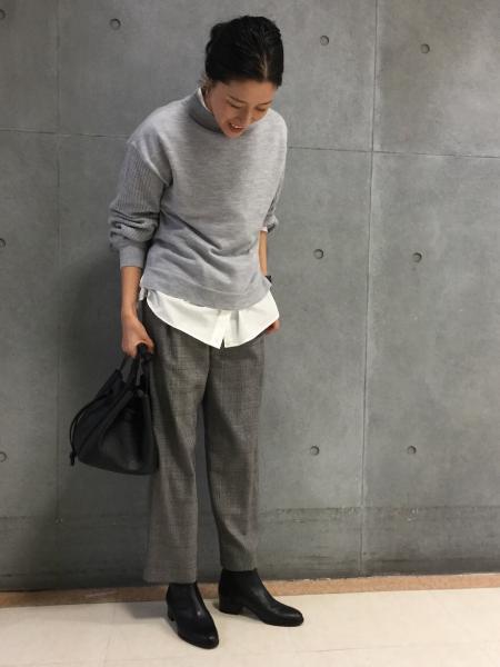 HUMAN WOMANの◆≪Marisol12月号掲載≫牛革レザーショートブーツを使ったコーディネートを紹介します。|Rakuten Fashion(楽天ファッション/旧楽天ブランドアベニュー)1001029