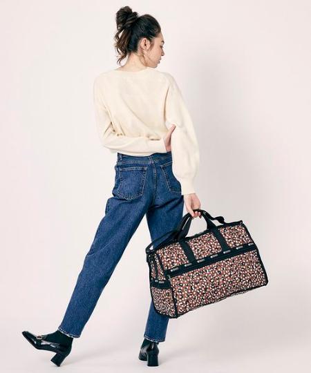 LeSportsacの(U)(公式)ボストンバッグ/ 7185 F465を使ったコーディネートを紹介します。|Rakuten Fashion(楽天ファッション/旧楽天ブランドアベニュー)1001188