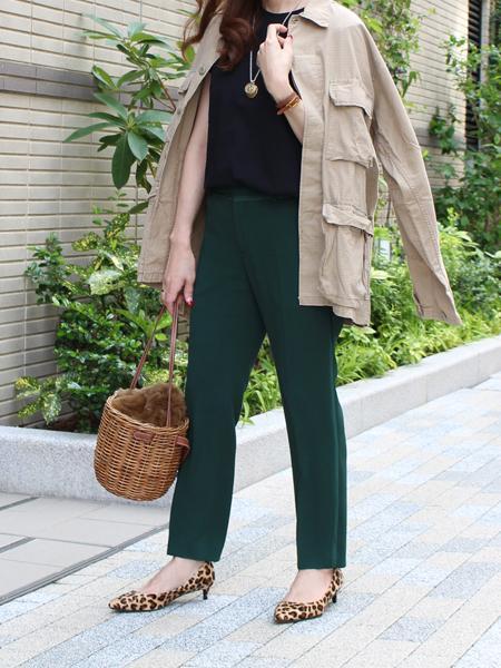 Finの【低反発スポンジ入り】ポインテッドトゥパンプスを使ったコーディネートを紹介します。|Rakuten Fashion(楽天ファッション/旧楽天ブランドアベニュー)1001325
