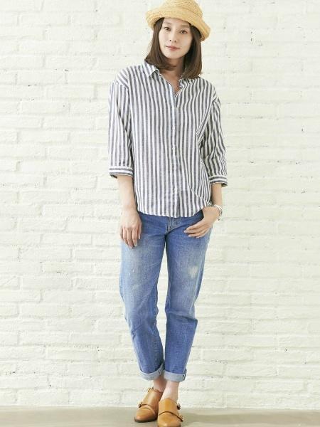 BRICK HOUSE by Tokyo Shirtsのコーディネートを紹介します。|Rakuten Fashion(楽天ファッション/旧楽天ブランドアベニュー)1001527