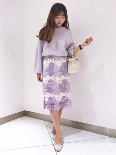 Noelaのメッシュ切替パンプスを使ったコーディネートを紹介します。|Rakuten Fashion(楽天ファッション/旧楽天ブランドアベニュー)1001560