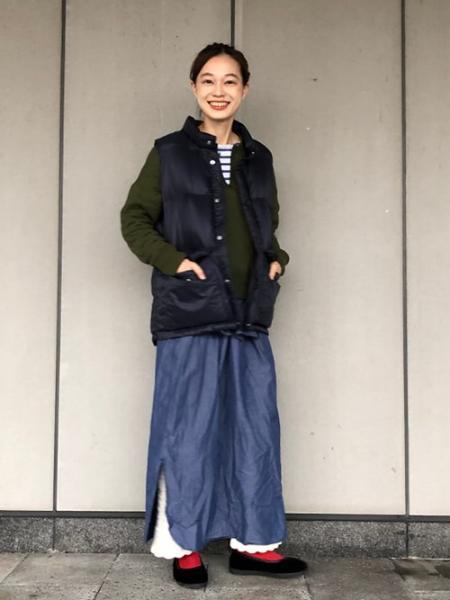 BEAMS WOMENのBEAMS BOY / 1/2ソリッド リブ ソックスを使ったコーディネートを紹介します。|Rakuten Fashion(楽天ファッション/旧楽天ブランドアベニュー)1001732