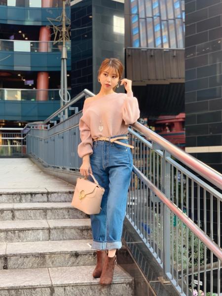 CECIL McBEEの横リブドルマンニットを使ったコーディネートを紹介します。|Rakuten Fashion(楽天ファッション/旧楽天ブランドアベニュー)1002611