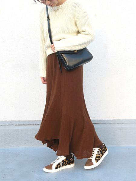 Esmeraldaの【mio notis/ミオノティス】アニマルスニーカーを使ったコーディネートを紹介します。|Rakuten Fashion(楽天ファッション/旧楽天ブランドアベニュー)1003043