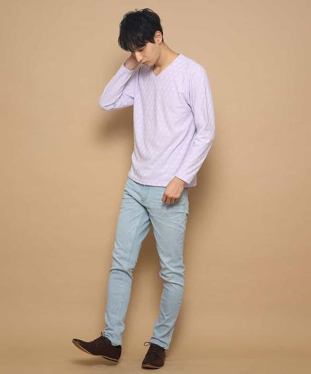 MK MICHEL KLEIN hommeのパンツ/ストレッチデニムを使ったコーディネートを紹介します。 Rakuten Fashion(楽天ファッション/旧楽天ブランドアベニュー)1003381