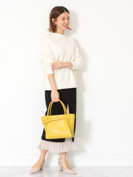 JILLSTUARTの◆キュカブークレニットを使ったコーディネートを紹介します。|Rakuten Fashion(楽天ファッション/旧楽天ブランドアベニュー)1003584