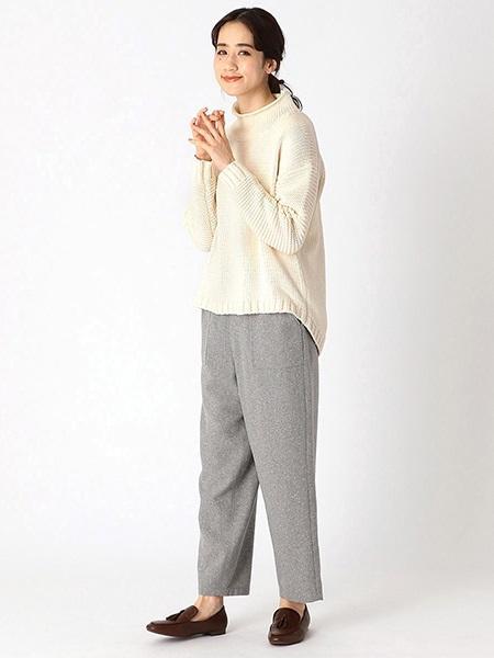 COMME CA ISMの【EC/一部店舗限定】タートルニット(ONIGIRI)を使ったコーディネートを紹介します。 Rakuten Fashion(楽天ファッション/旧楽天ブランドアベニュー)1003871