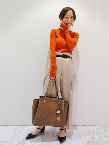 interstapleのAva/A4プルアップレザーを使ったコーディネートを紹介します。|Rakuten Fashion(楽天ファッション/旧楽天ブランドアベニュー)1003998