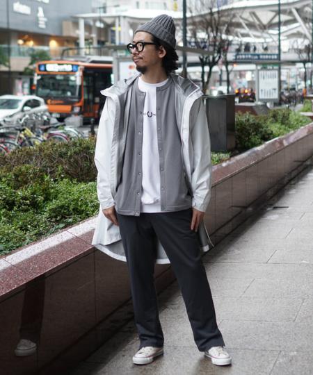 BEAMS MENのBEAMS / スナップ クルースウェット カーディガンを使ったコーディネートを紹介します。|Rakuten Fashion(楽天ファッション/旧楽天ブランドアベニュー)1004142