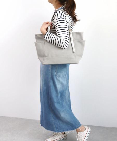 TrysilのT・S・L/キャンバスサイドポケットA4トートバッグを使ったコーディネートを紹介します。|Rakuten Fashion(楽天ファッション/旧楽天ブランドアベニュー)1004193
