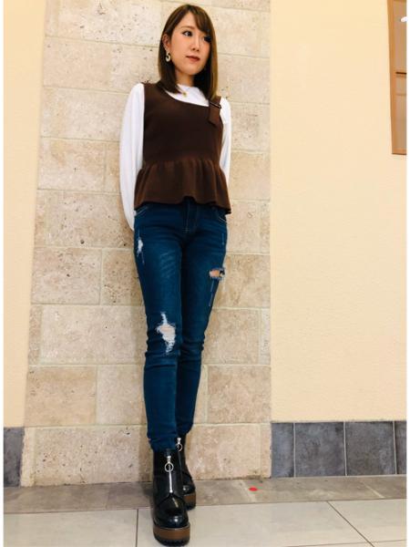 INGNIのコーディネートを紹介します。|Rakuten Fashion(楽天ファッション/旧楽天ブランドアベニュー)1004439