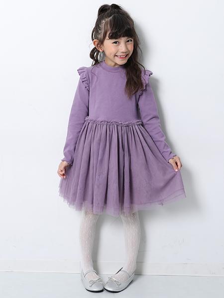 devirockのドットタイツ 女の子 タイツ デビロックストア 子供服 キッズを使ったコーディネートを紹介します。|Rakuten Fashion(楽天ファッション/旧楽天ブランドアベニュー)1004667