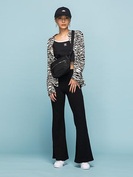 adidasのSST CAPを使ったコーディネートを紹介します。|Rakuten Fashion(楽天ファッション/旧楽天ブランドアベニュー)1005663
