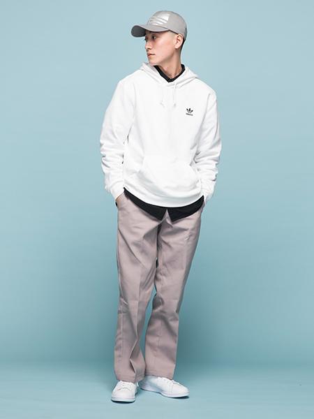 adidasの(U)STAN SMITHを使ったコーディネートを紹介します。|Rakuten Fashion(楽天ファッション/旧楽天ブランドアベニュー)1005920