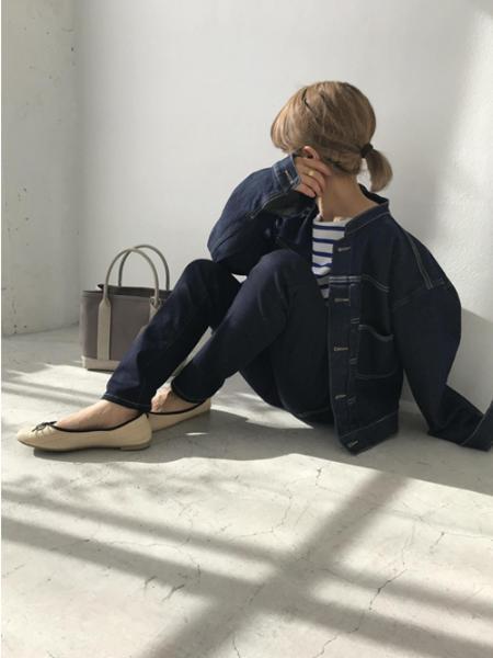 ROPE' PICNICのストレートスキニーパンツを使ったコーディネートを紹介します。|Rakuten Fashion(楽天ファッション/旧楽天ブランドアベニュー)1006344